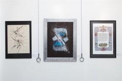 "Calligraphie ""Ma Patrie"" en exposition"